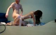 Video porno etudiante coquine ramonée en levrette